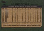 2001 Topps Archives #380 Al Hrabosky 82 back image