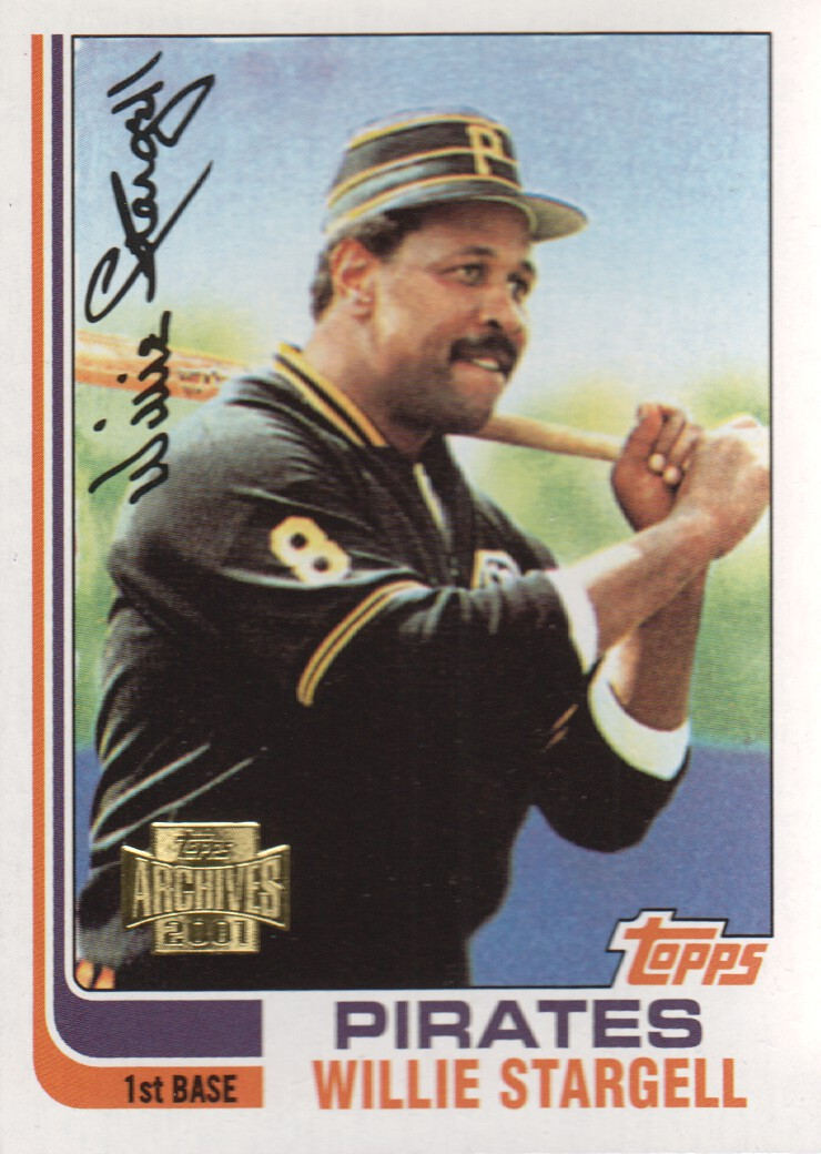 2001 Topps Archives #381 Willie Stargell 82