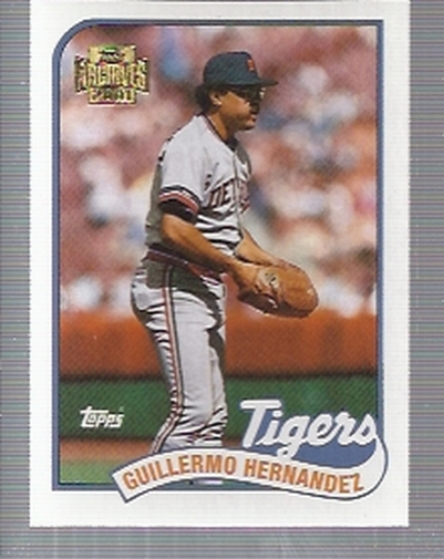 2001 Topps Archives #402 Willie Hernandez 89