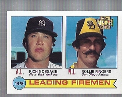 2001 Topps Archives #434 Leading Firemen 79