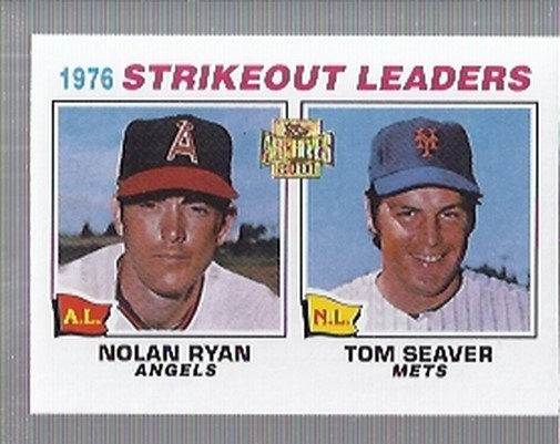 2001 Topps Archives #435 Strikeout Leaders 77