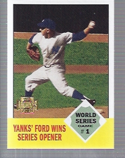 2001 Topps Archives #446 Whitey Ford WS 62