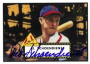 2001 Topps Archives Autographs #TAA26 Red Schoendienst E1
