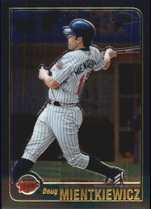 2001 Topps Chrome Traded #T76 Doug Mientkiewicz