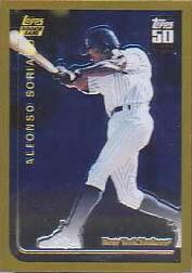 2001 Topps Chrome Traded #T144 Alfonso Soriano 99