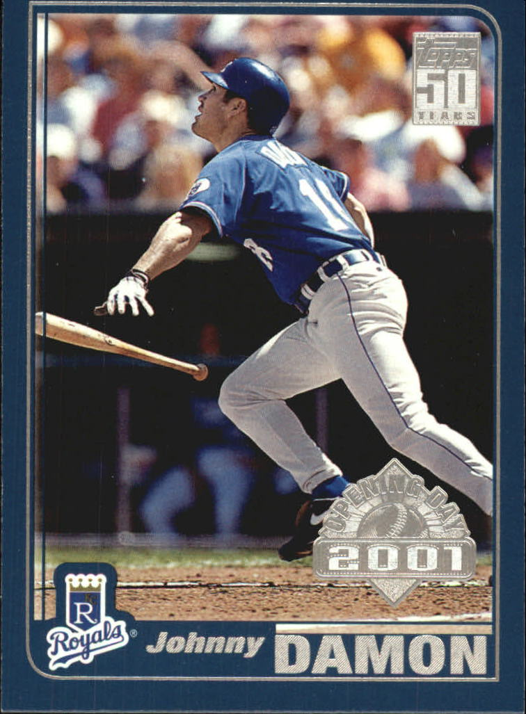2001 Topps Opening Day #44 Johnny Damon