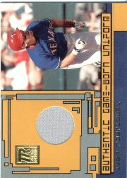 2001 Topps Reserve Game Jerseys #TRRIR Ivan Rodriguez