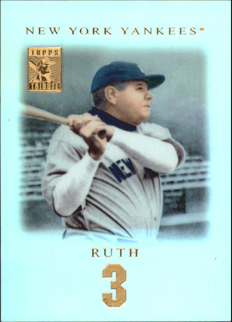 2001 Topps Tribute #2 Babe Ruth