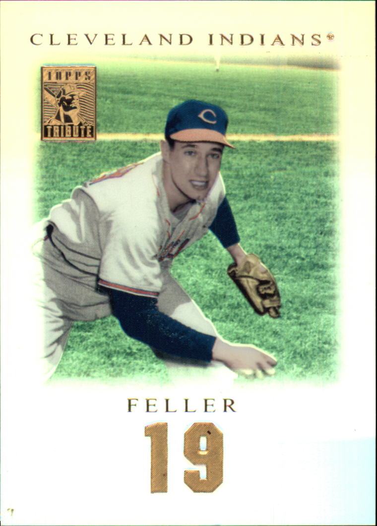 2001 Topps Tribute #16 Bob Feller