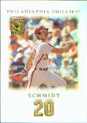 2001 Topps Tribute #17 Mike Schmidt