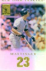 2001 Topps Tribute #20 Don Mattingly