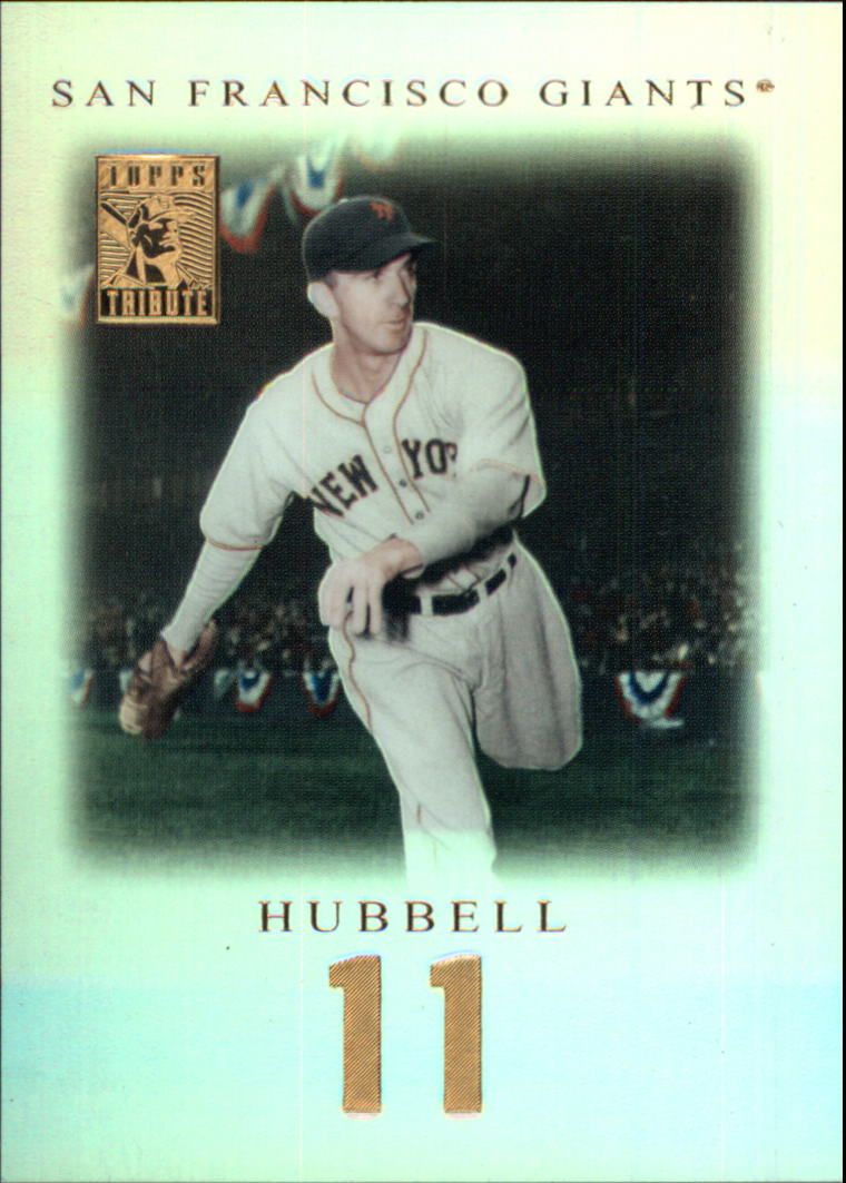 2001 Topps Tribute #79 Carl Hubbell