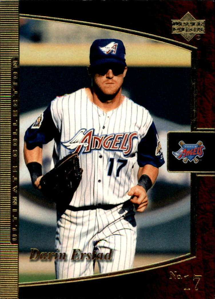 2001 Ultimate Collection #2 Darin Erstad