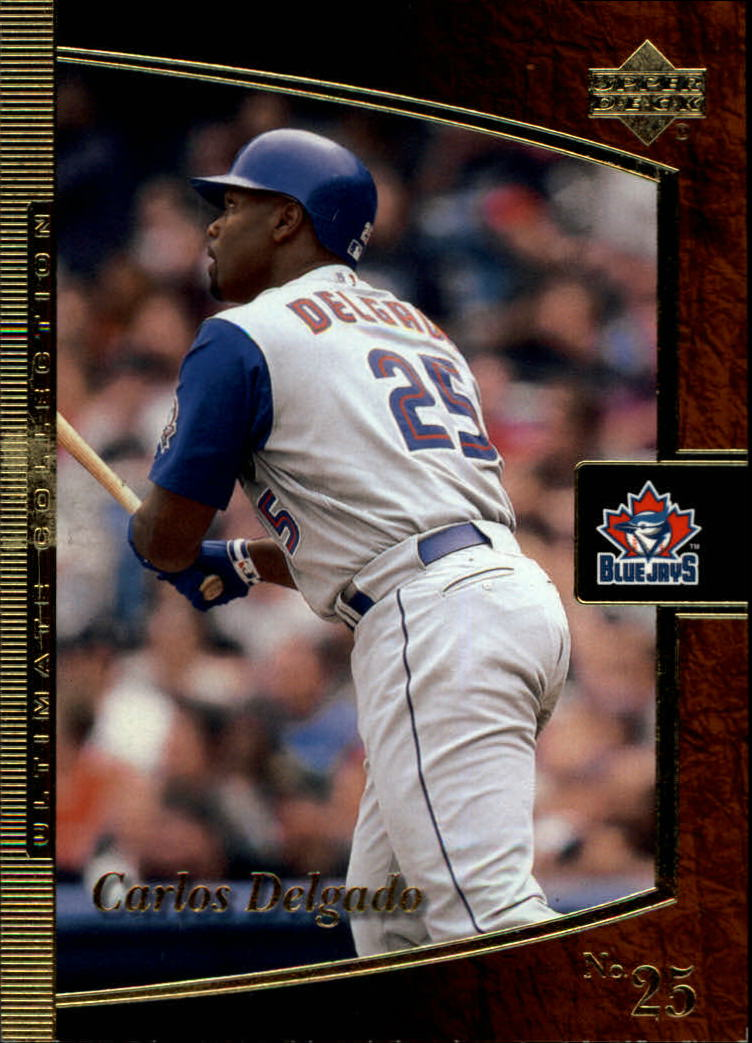 2001 Ultimate Collection #7 Carlos Delgado