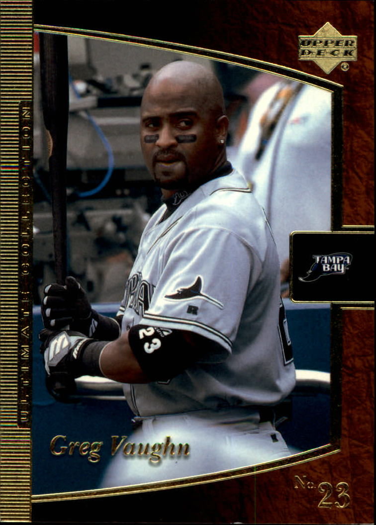 2001 Ultimate Collection #9 Greg Vaughn