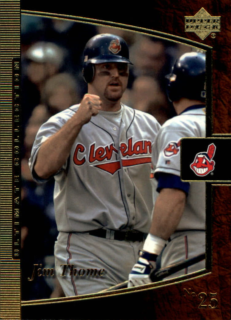 2001 Ultimate Collection #13 Jim Thome