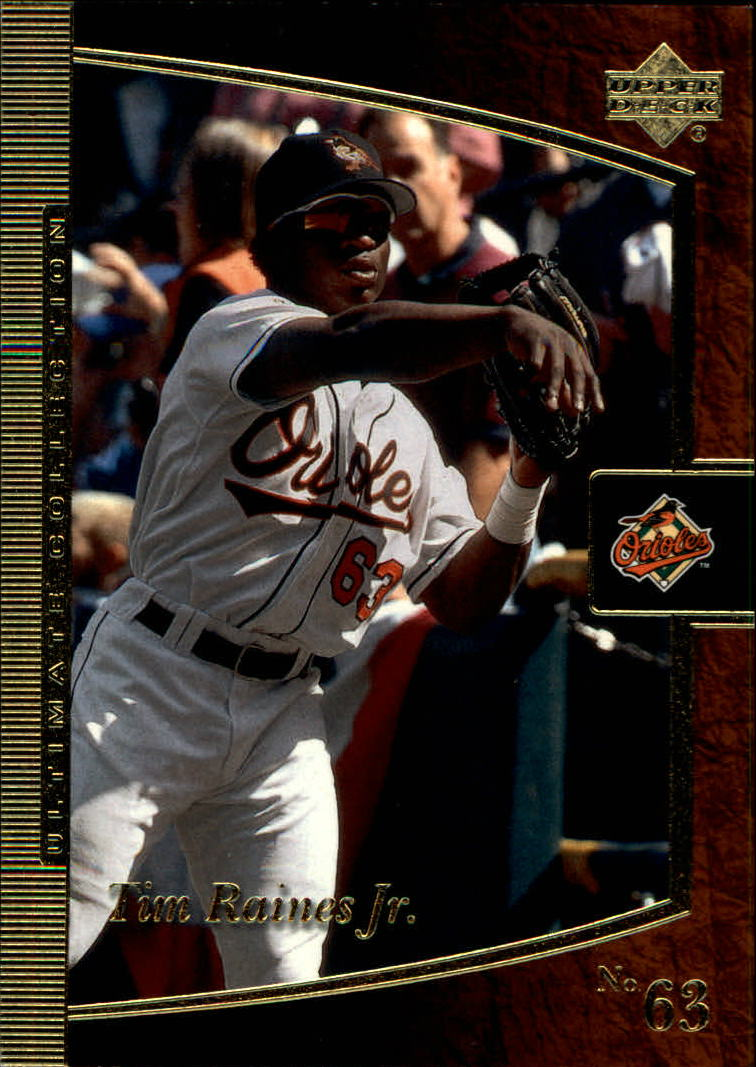 2001 Ultimate Collection #19 Tim Raines Jr.