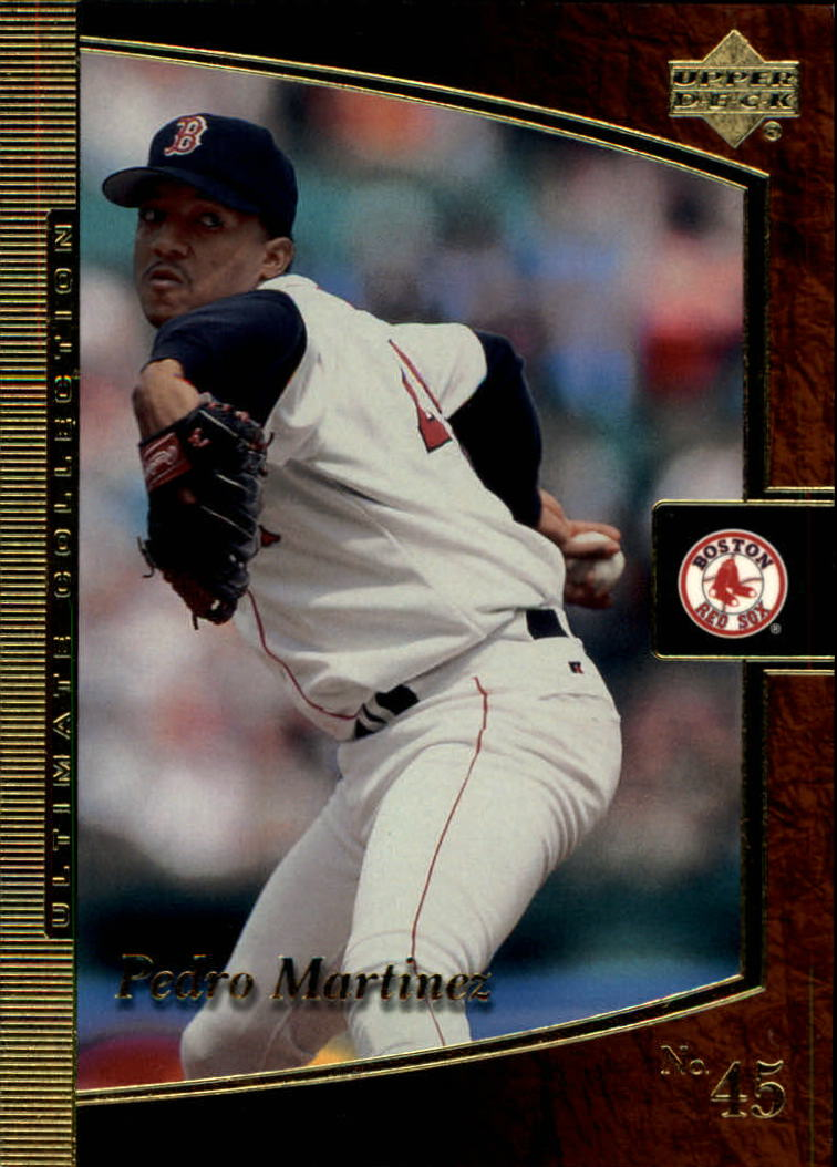 2001 Ultimate Collection #23 Pedro Martinez
