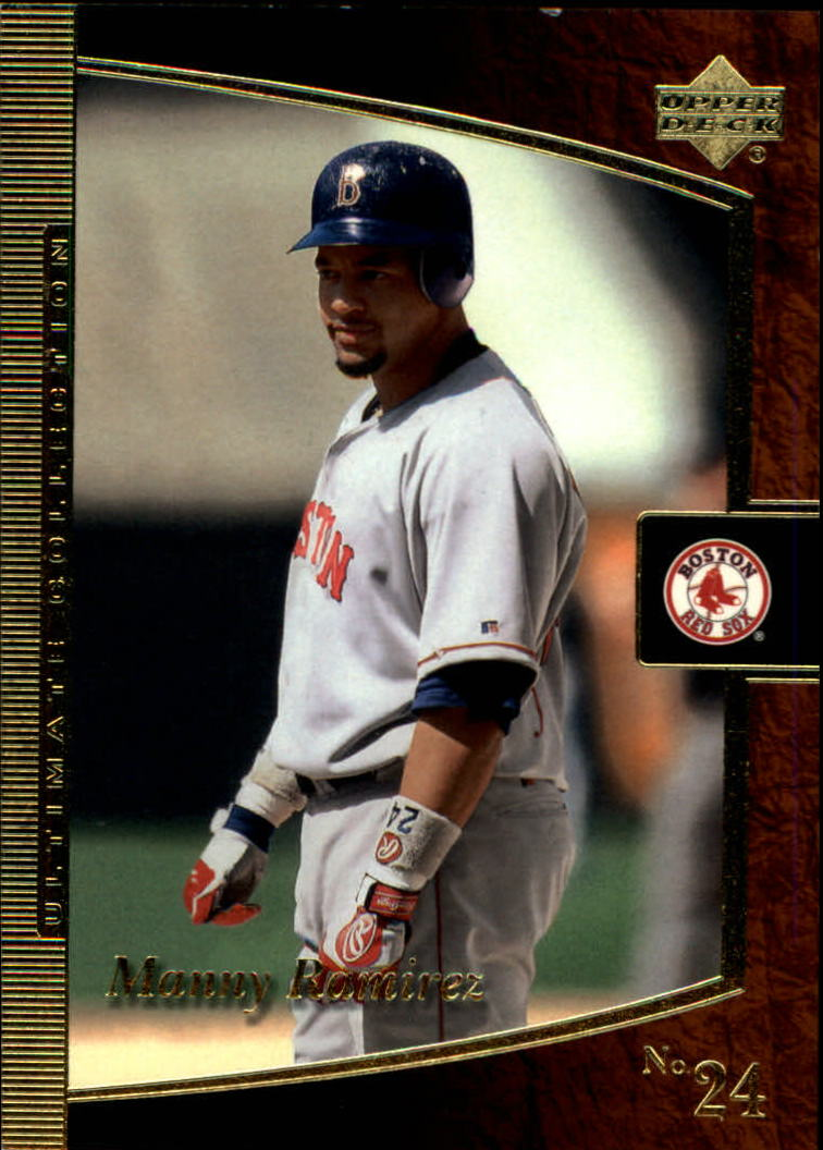 2001 Ultimate Collection #25 Manny Ramirez Sox
