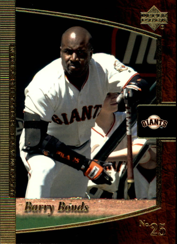 2001 Ultimate Collection #66 Barry Bonds