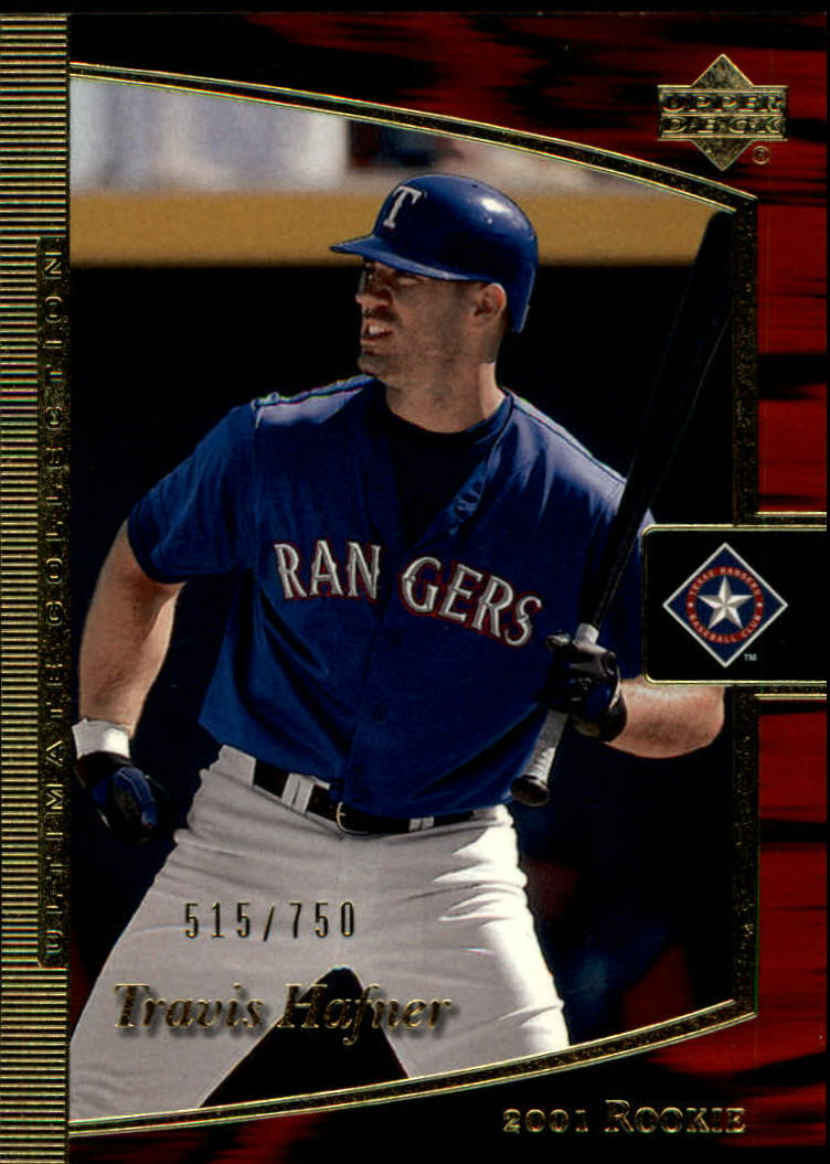2001 Ultimate Collection #103 Travis Hafner T2 RC