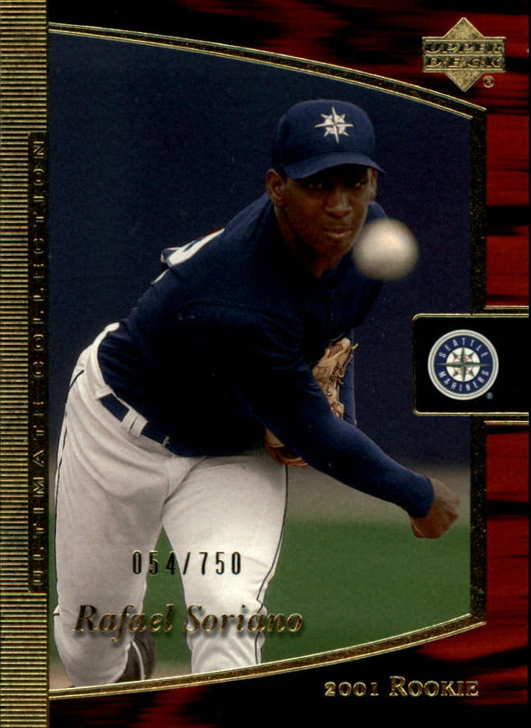 2001 Ultimate Collection #108 Rafael Soriano T2 RC