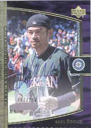 2001 Ultimate Collection #120 Ichiro Suzuki T3 AU RC