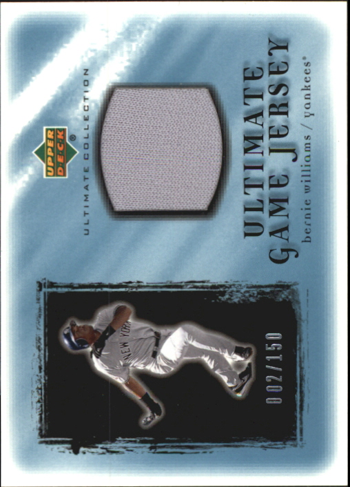 2001 Ultimate Collection Game Jersey #UBW Bernie Williams