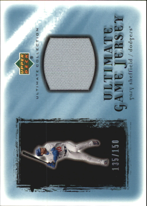 2001 Ultimate Collection Game Jersey #UGS Gary Sheffield