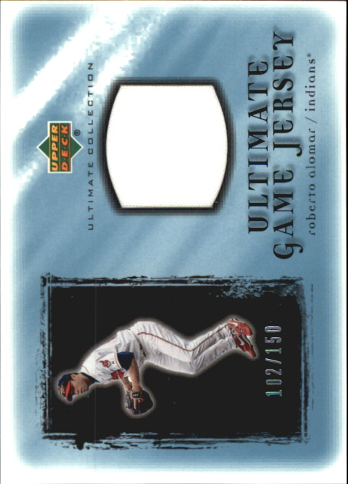 2001 Ultimate Collection Game Jersey #URA Roberto Alomar