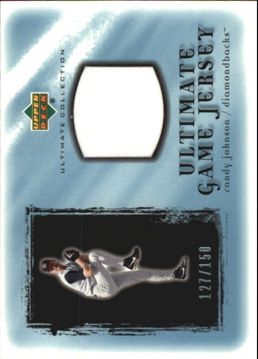 2001 Ultimate Collection Game Jersey #URJ Randy Johnson