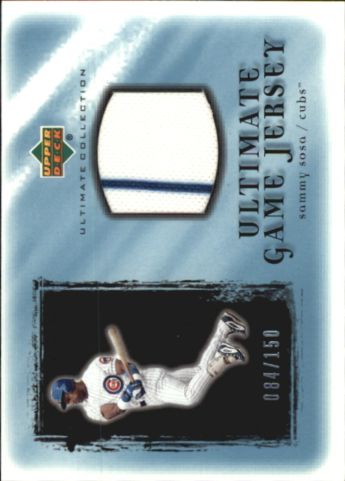 2001 Ultimate Collection Game Jersey #USS Sammy Sosa