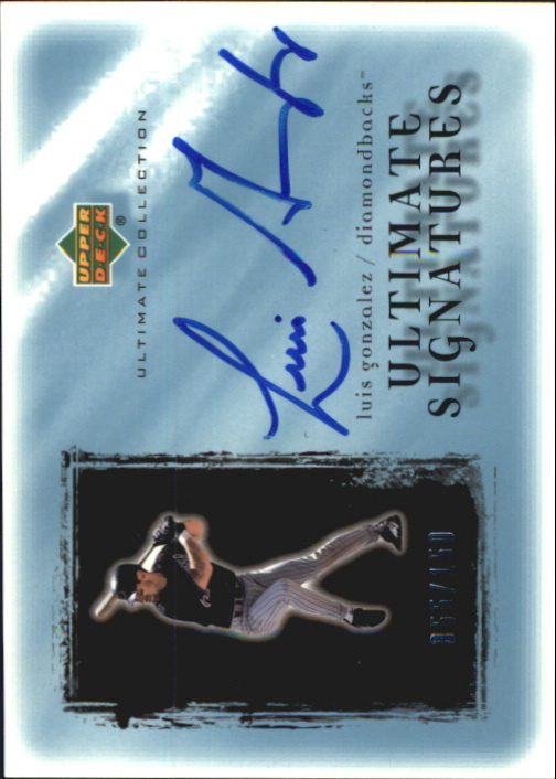 2001 Ultimate Collection Signatures #LG Luis Gonzalez