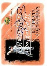 2001 Ultimate Collection Signatures Copper #RC Roger Clemens