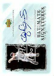 2001 Ultimate Collection Signatures Silver #RC Roger Clemens
