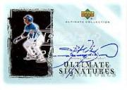 2001 Ultimate Collection Signatures Silver #SS Sammy Sosa