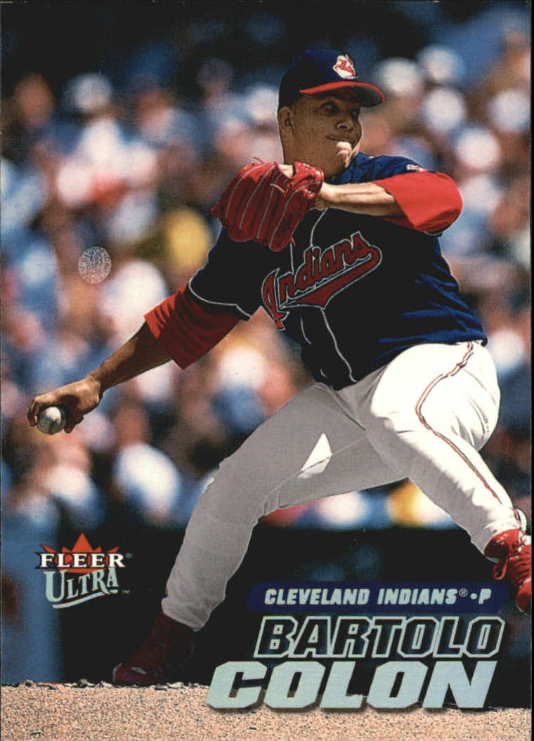 2001 Ultra #63 Bartolo Colon