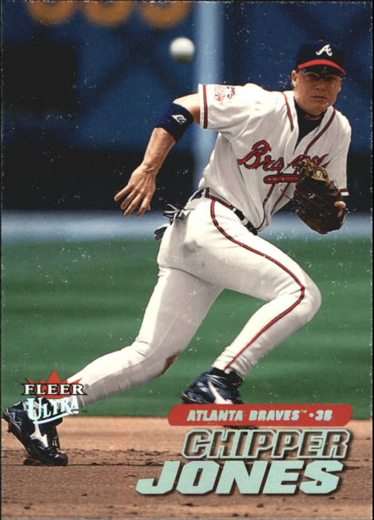 2001 Ultra #96 Chipper Jones