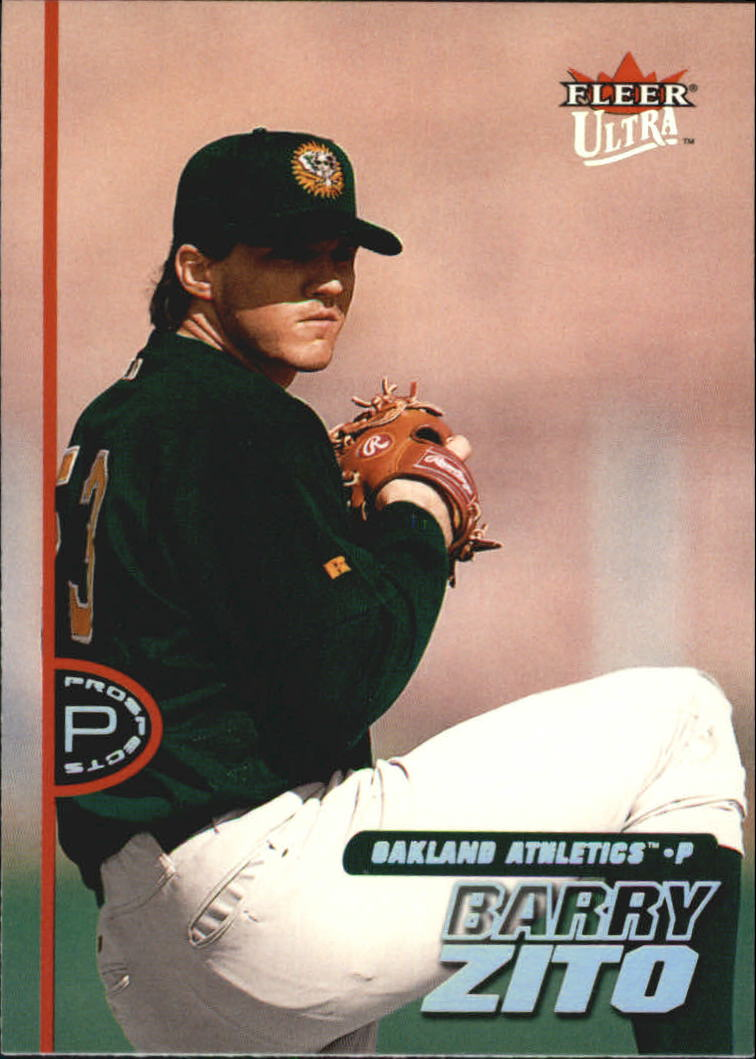 2001 Ultra #251 Barry Zito PROS