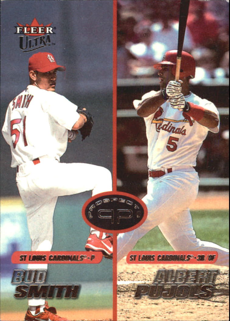 2001 Ultra #277 A.Pujols RC/B.Smith RC