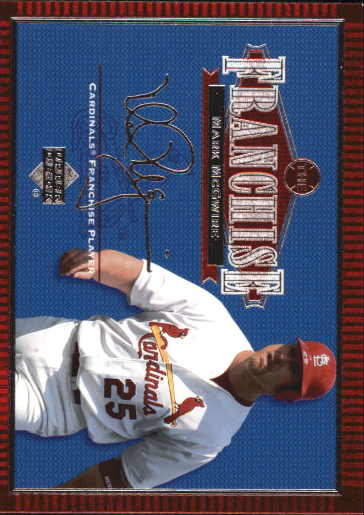2001 Upper Deck Franchise #F2 Mark McGwire front image