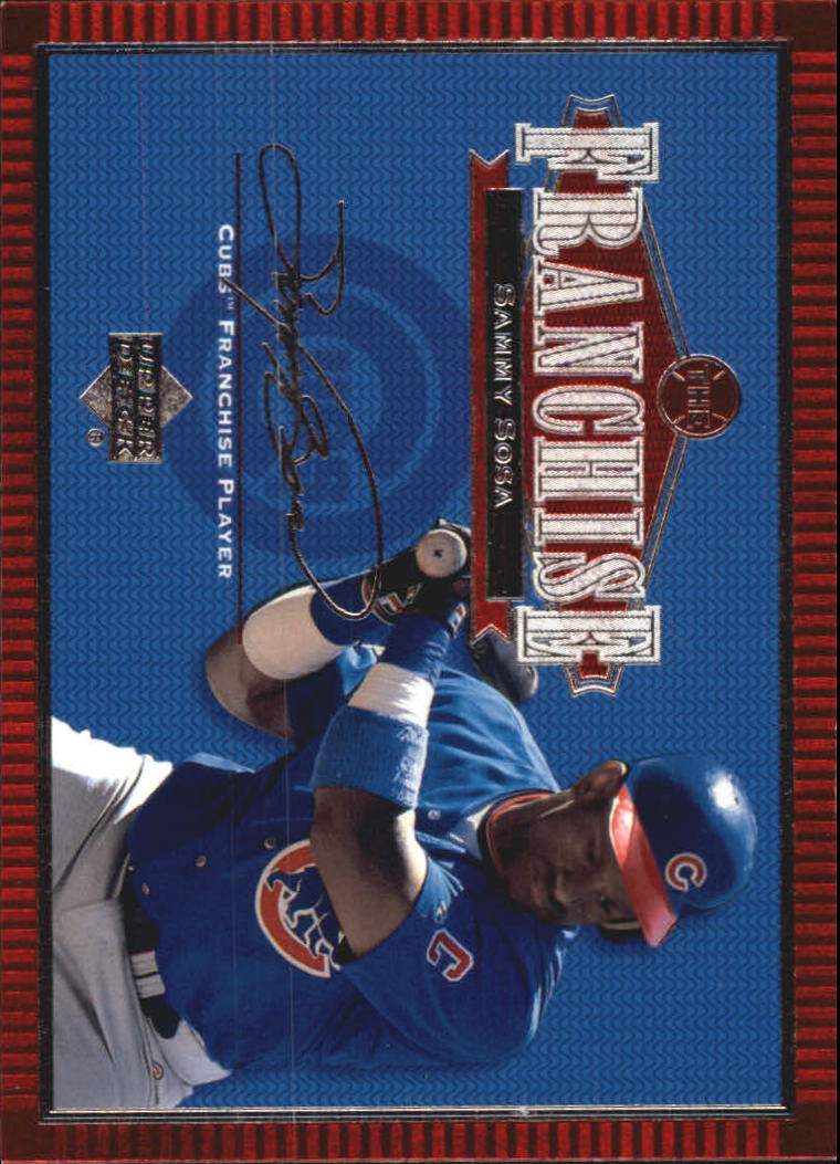 2001 Upper Deck Franchise #F7 Sammy Sosa