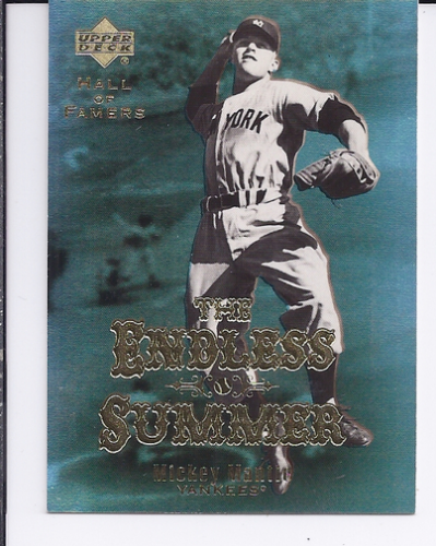 2001 Upper Deck Hall of Famers Endless Summer #ES1 Mickey Mantle