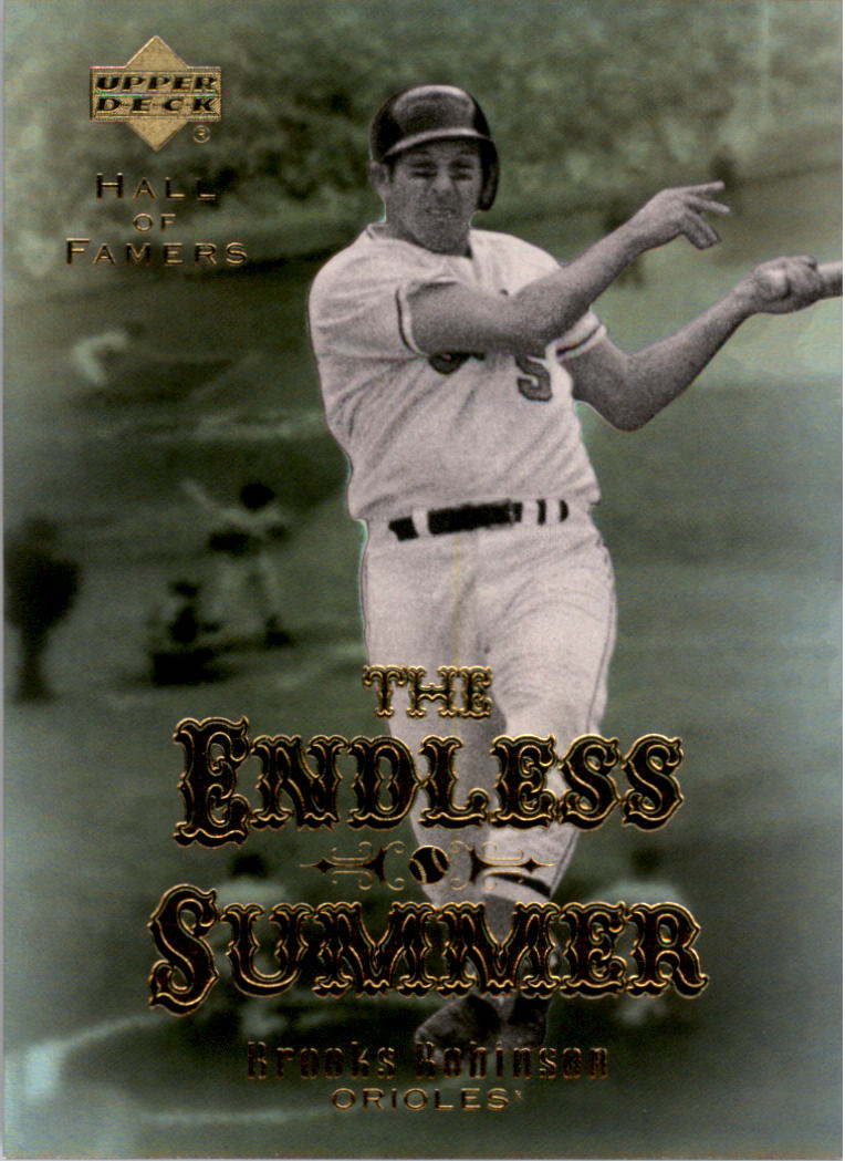 2001 Upper Deck Hall of Famers Endless Summer #ES11 Brooks Robinson front image