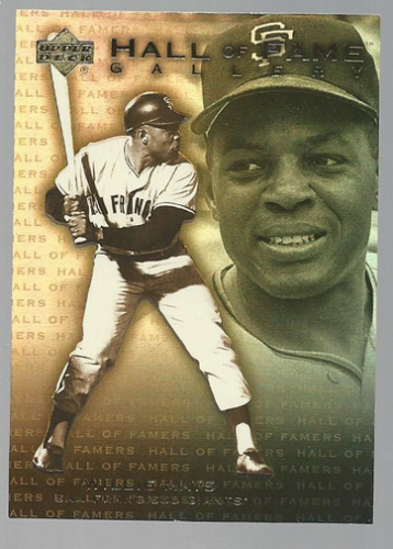 2001 Upper Deck Hall of Famers Gallery #G8 Willie Mays