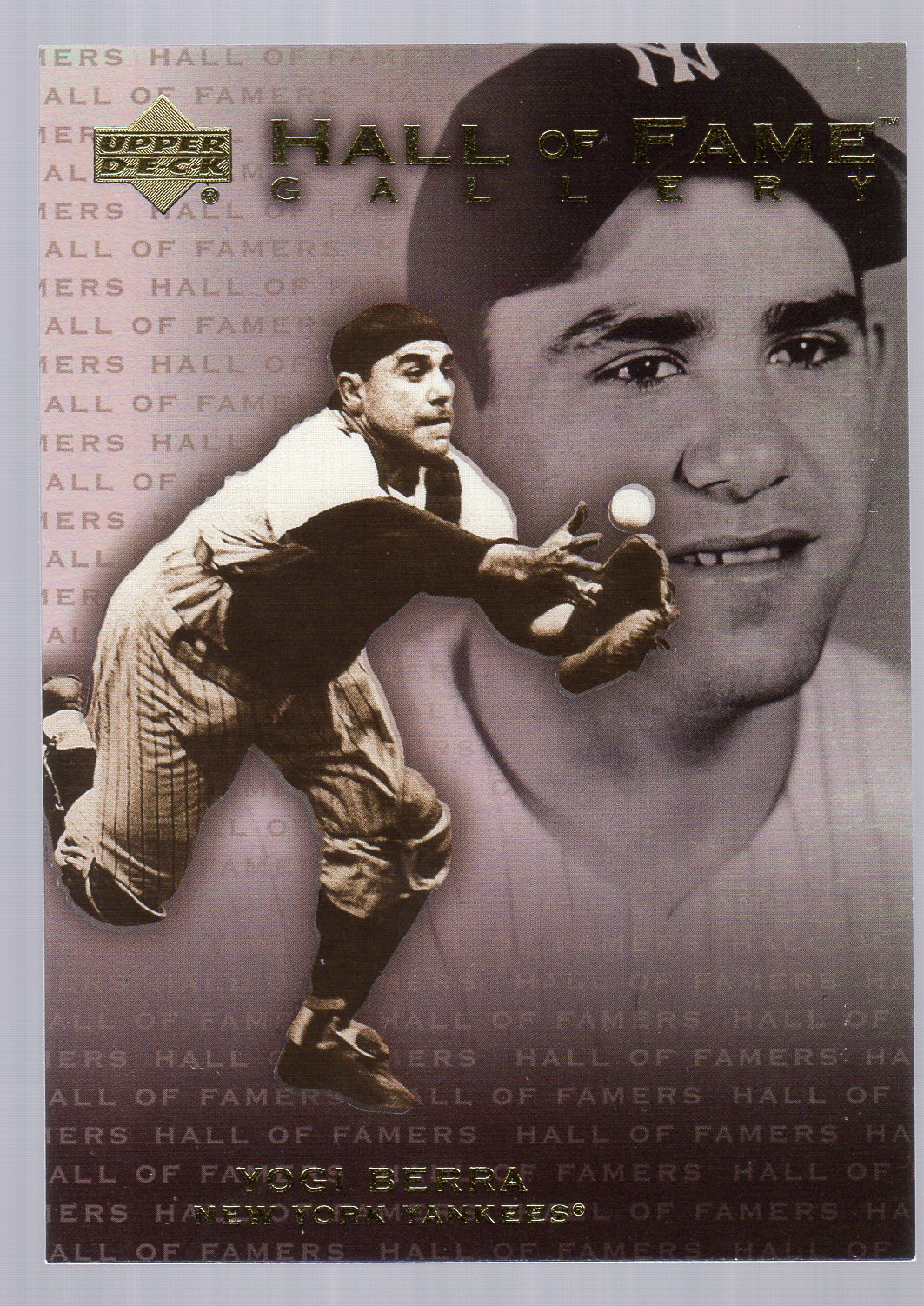 2001 Upper Deck Hall of Famers Gallery #G12 Yogi Berra