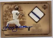 2001 Upper Deck Hall of Famers Game Jersey Autograph #SJRJ Reggie Jackson