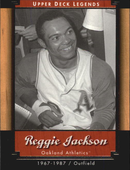 2001 Upper Deck Legends #4 Reggie Jackson