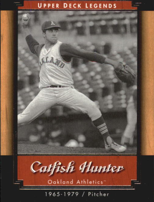 2001 Upper Deck Legends #5 Catfish Hunter