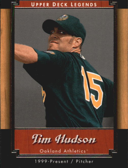 2001 Upper Deck Legends #7 Tim Hudson